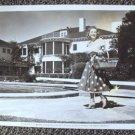 SONJA HENIE Original UNIVERSAL STUDIOS Photo AT HOME Press Snipe MONTE CRISTO