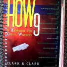 HOW 9 Handbook for OFFICE WORKERS Clark How9 Business Book grammar Internet