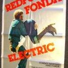ROBERT REDFORD The ELECTRIC HORSEMAN Original 1-Sheet Poster JANE FONDA Cowboy