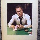 TONY CURTIS Original Huge COLOR PHOTO Little Miss Marker VEGA$ Poker Cards VEGAS