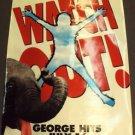 GEORGE OF THE JUNGLE Window Cling POSTER Brendan Fraser HUGE Jay Ward Disney