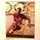 OLYMPICS 1988 Original TV Station TRACK Artwork PHOTO Running Olympic Race