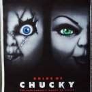 CHILD'S PLAY 4  Bride of Chucky DOLL Original Rolled 1-Sheet Movie POSTER Horror