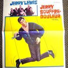 JERRY LEWIS The PATSY Original BELGIUM Poster 1964 The Nutty Professor Star
