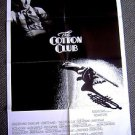 COTTON CLUB Francis Ford Coppola RICHARD GERE Original  1-Sheet Movie POSTER '84