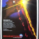 BRAINSTORM Natalie Wood LAST FILM Rolled MOVIE Poster CHRISTOPHER WALKEN