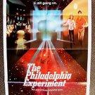 MICHAEL PARE Nancy Allen Original PHILADELPHIA EXPERIMENT 1-Sheet Movie  Poster