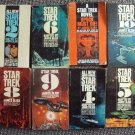 STAR TREK Paperback Book Set  Enterprise WILLIAM SHATNER Mr. SPOCK LEONARD NIMOY