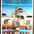 TIME BANDITS Original 1-SHEET Movie POSTER  Sean Connery  JOHN CLEESE  Duvall