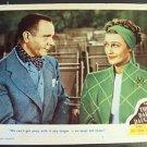 JEANETTE MacDONALD Lobby Card THREE DARING DAUGHTERS Original M.G.M. MGM 1947