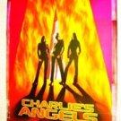 CHARLIE'S ANGELS Mylar Movie Poster Cameron Diaz DREW BARRYMORE Lucy Liu ORIGNAL