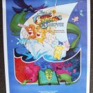 CARE BEARS Original ROLLED  1- Sheet   Movie POSTER Cousins KENNER Toy '85