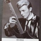 DAVID BOWIE Promo HOLLYWOOD Concert GREG GORMAN Poster