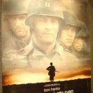 SAVING PRIVATE RYAN Original Poster TOM HANKS Matt Damon STEVEN SPIELBERG Rolled