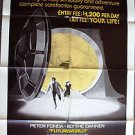 FUTUREWORLD Original 1-Sheet Movie POSTER Blythe Danner PETER FONDA Westworld