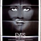FAYE DUNAWAY The EYES OF LAURA MARS Original 1-Sheet POSTER Tommy Lee Jones