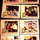 YOUNG and DANGEROUS Vintage TEENAGE TRASH Lobby Card SET Lili Gentle MARK DAMON