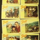 SHAGGY  Lobby Card SET  George Nokes BRENDA JOYCE  1948 Complete 8 set of Cards