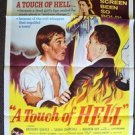 CLIFF RICHARD Serious Charge TOUCH OF HELL Teenage Trash POSTER Delinquents 1960