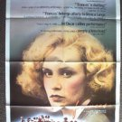 FRANCES Original JESSICA LANGE 1-Sheet Movie POSTER Academy Award Winner! Nice!