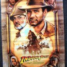 INDIANA JONES and the LAST CRUSADE  Poster HARRISON FORD Sean Connery ORIGINAL
