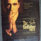 GODFATHER  III  Oriiginal Rare Style  Poster  Al PACINO  Francis Ford Coppola