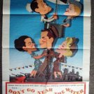 DON&#39;T GO NEAR THE WATER 1-Sheet Movie Poster GLENN FORD Gia Scala  1957 ORIGINAL