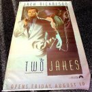 TWO JAKES Vinyl Movie BANNER Poster CHINATOWN Sequel JACK NICHOLSON  FILM-NOIR