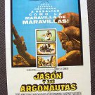 JASON and the ARGONAUTS Spanish Poster RAY HARRYHAUSEN Special Effects Fantasy