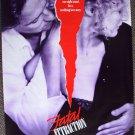 FATAL ATTRACTION Original Movie Poster MICHAEL DOUGLAS Glenn Close OSCAR Winner