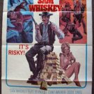 SAM WHISKEY 1-Sheet Movie Poster BURT REYNOLDS Angie Dickinson WESTERN  1969