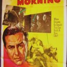 Night Into Morning Original 1-Sheet Movie Poster RAY MILLAND Nancy Reagan M.G.M.