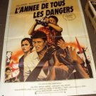 MEL GIBSON The YEAR OF LIVING DANGEROUSLY Sigourney Weaver FRENCH 1-Sheet Poster