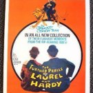 FURTHER PERILS OF LAUREL AND HARDY Mint WINDOW CARD Poster Stan Ollie HAL ROACH