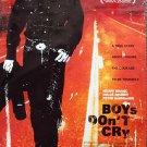 BOYS DON'T CRY Original DOUBLE Sided Movie  POSTER Hilary Swank OSCAR WINNER!!!