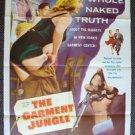 GARMET JUNGLE Original 1-Sheet Movie POSTER KERWIN MATHEWS Gia Scalia