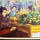 PRINCE OF FOXES Original VINTAGE  Lobby Card  ORSON WELLES Tyrone Power 1949