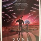 DUNE Original MINT 1-Sheet Rolled POSTER Kyle MacLachlan STING  David Lynch