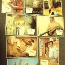 SHAFT in AFRICA Foreign Set of 8 LOBBY CARD's RICHARD ROUNDTREE Blaxploitation