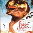 FEAR AND LOATHING IN LAS VEGAS Original ROLLED Poster  JOHNNY DEPP Double Sided