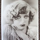 JOAN CRAWFORD early 1920's era GLAMOUR Portrait HEADHSOT Photo GOLDEN HOLLYWOOD