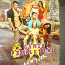 SHIRTLESS Blond Surfer GAMES PEOPLE PLAY Poster Muscle Boy Original Rolled