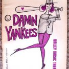 JULIET PROWSE Original Theatre Program DAMN YANKEES Brian Avery VALLEY MUSIC