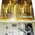 CAMELOT Huge Photo PRESSBOOK Richard Harris VANESSA REDGRAVE Original Lancelot