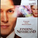 JOHNNY DEPP Original FINDING NEVERLAND 1-Sheet ROLLED Movie POSTER Kate Winslet