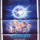 RETURN OF THE JEDI Original 1985 Movie Studio Rolled  POSTER Star Wars