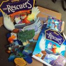 The RESCUERS Walt Disney UNOPENED Huge DISPLAY Sign STANDEE Miss Bianca UNUSED