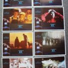 E.T. The EXTRA TERRESTRIAL Original LOBBY CARD Set of 8 ET Steven Spielberg 1982