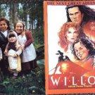 WILLIOW color PHOTO Program VAL KILMER George Lucas RON HOWARD Joanne Whalley