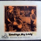 BRANDON de WILDE Original LOBBY CARD Good-bye, My Lady WARNER BROS. 1956 Dog